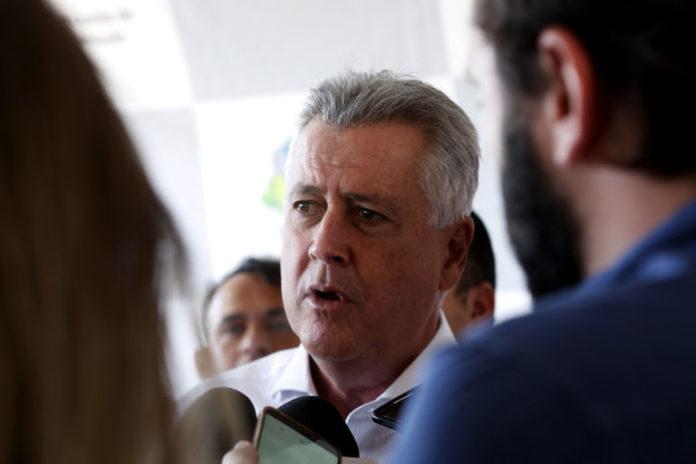 O governador de Brasília, Rodrigo Rollemberg, reafirmou nesta terça-feira (15) que o governo está fazendo todos os esforços para assegurar o pagamento em dia do salário dos servidores do DF. Foto: Dênio Simões/Agência Brasília